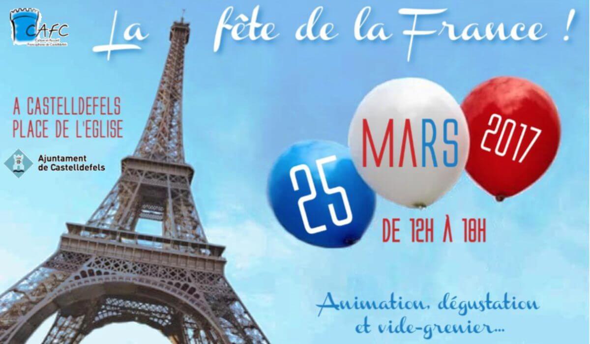 Ce week-end, c'est la fête de la France !