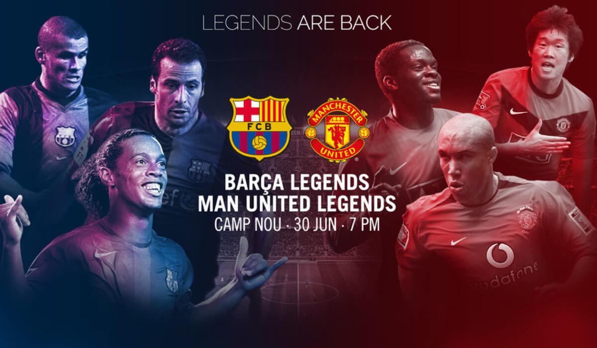 Le match des légendes ! Barcelone vs Manchester United