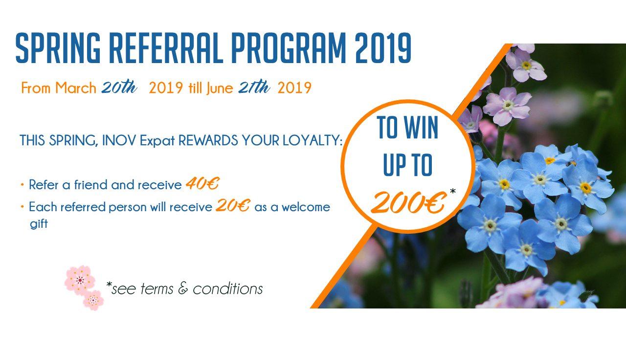 Spring Referal Program 2019