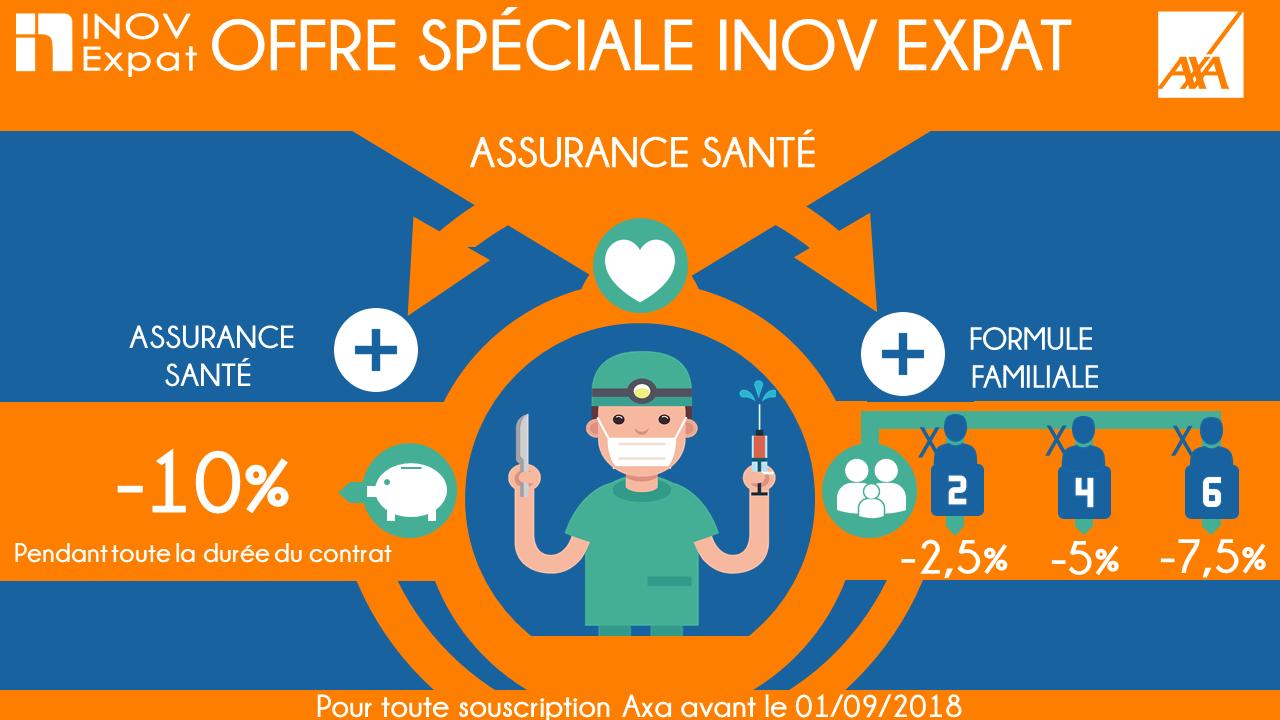 Offre Axa, assurance santé Espagne
