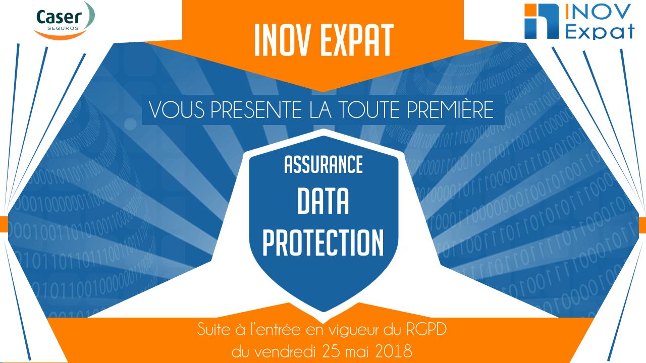 Assurance data, offre assurance Espagne, Assurance RGPD, Protection des données